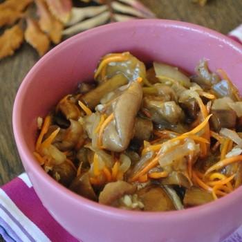 Маслята по-корейски: рецепты заготовок на зиму