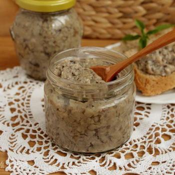 Икра из маслят с чесноком: рецепты на зиму