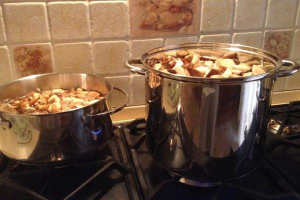 Постные борщи с грибами: рецепты приготовления