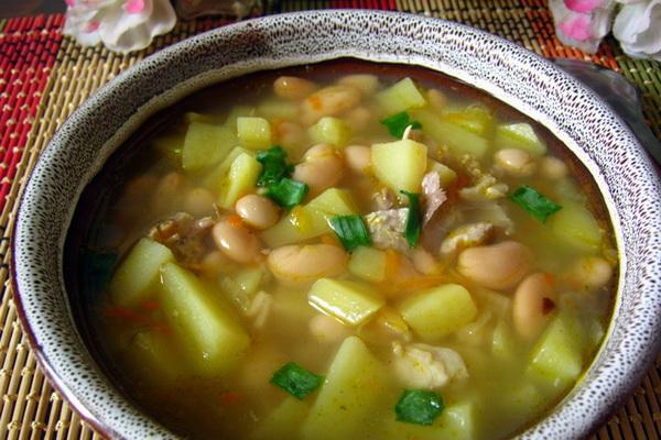 Картинки по запросу суп с консервированной фасоли