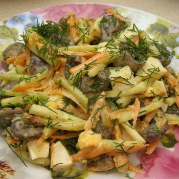 Рецепты постных салатов на поминки