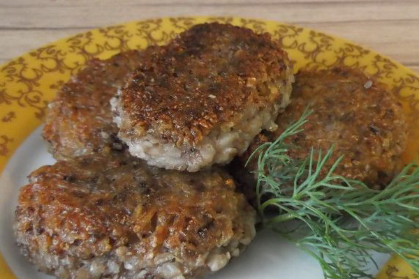Котлеты из гречки без мяса рецепт пошагово 148
