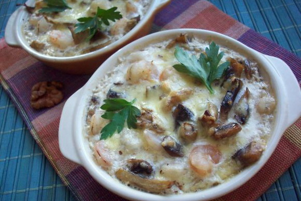 Как приготовить жульен из грибов лисичек