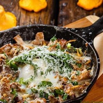 Жульены на сковороде: домашние рецепты