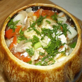 Жульены с грибами и картошкой: рецепты с фото