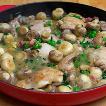 Куриная печень с шампиньонами: рецепты вкусных блюд