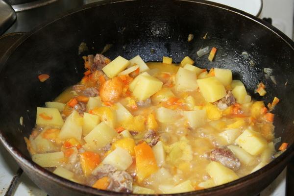 Тыква с грибами и мясом: популярные рецепты