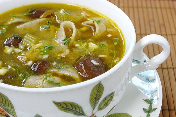 Грибной суп из свежих маслят: рецепты русской кухни