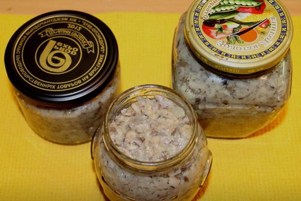 Грибная икра из маслят на зиму: пошаговые рецепты