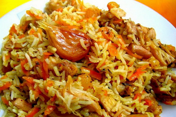 Рис с мясом и грибами: рецепты для духовки и мультиварки
