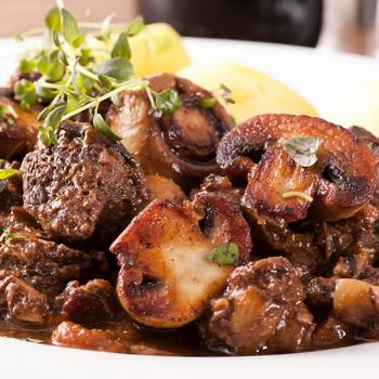 Жареное мясо с грибами: рецепты вкусных блюд