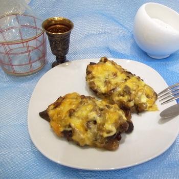Тесто с начинкой в духовке рецепт с фото