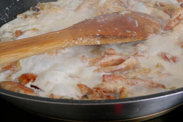 Вешенки с курицей: рецепты грибных блюд