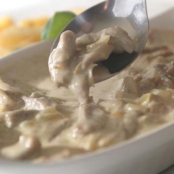 грибы со сметаной рецепт с фото пошаговый рецепт