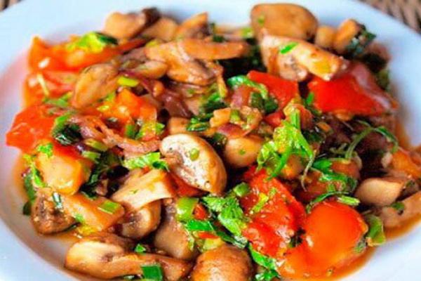 Рецепты блюд с картошкой, грибами и овощами