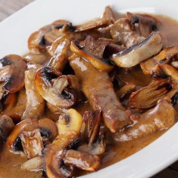Вторые блюда с шампиньонами: домашние рецепты