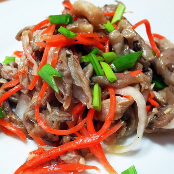 Вешенки по-корейски: рецепты приготовления в домашних условиях