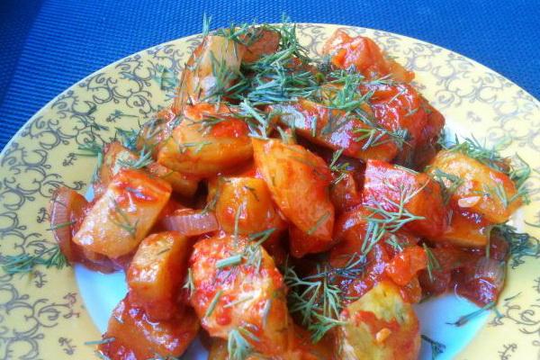 Тушеная картошка с грибами: рецепты с фото и видео