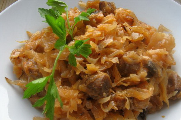 Рецепт салат с куриной грудинкой