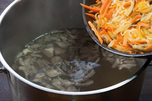 как приготовить суп с курицей и шампиньонами