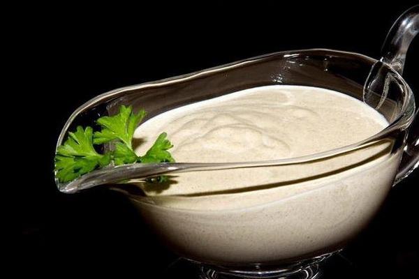 Сливочно грибной соус к макаронам