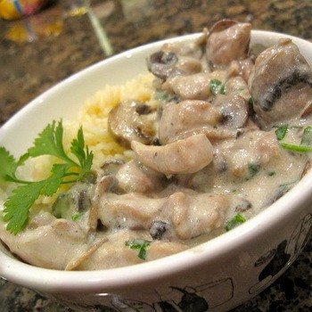 Опята в сливочном соусе: пошаговые рецепты с фото