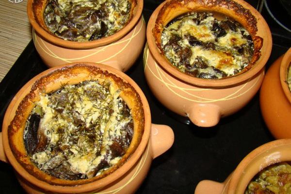 Опята с кабачками: рецепты грибных блюд