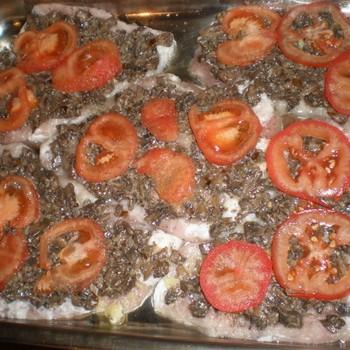 Рецепты блюд из мяса с грибами и помидорами
