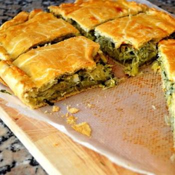 тесто для пирога с капустой в духовке без дрожжей