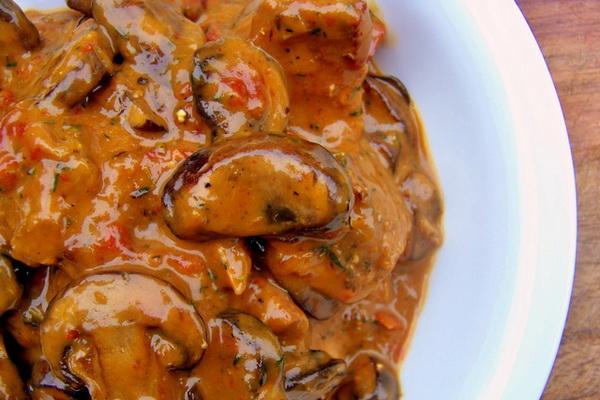 Первые и вторые блюда из картофеля и грибов