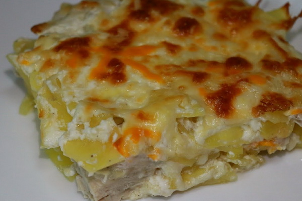 Картофель запеканка с фаршем в мультиварке рецепты пошагово 195