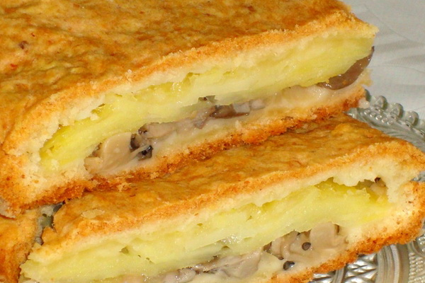Рецепты пирога с начинкой в духовке