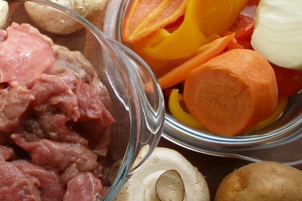Рецепты блюд из мяса с грибами и овощами