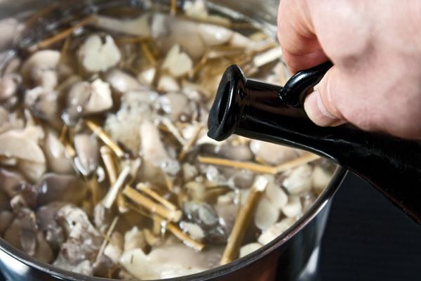 Грибы зонтики на зиму: рецепты домашних заготовок