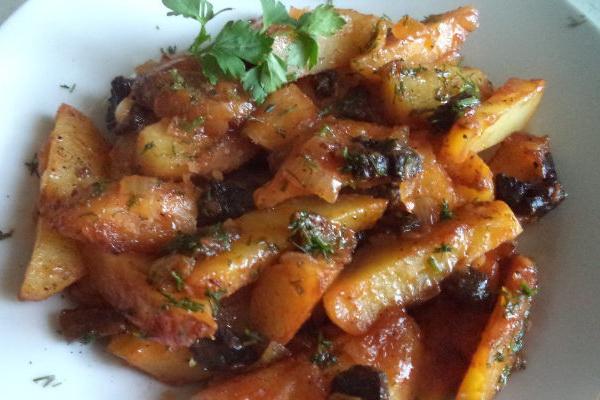 Жаркое с грибами и картошкой: рецепты с фото
