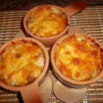 рецепт жульена с сыром и курицей