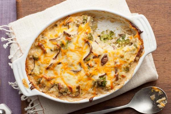 Рецепты сытных жульенов с картошкой и грибами