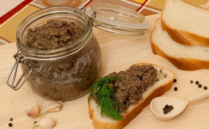 Рецепт грибной икры из осенних опят