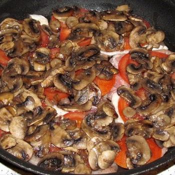 Рецепты блюд из грибов, картофеля и помидоров