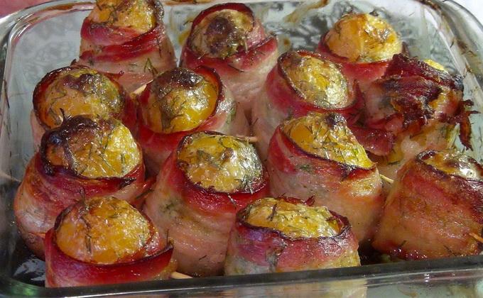 Картошка, фаршированная грибами: рецепты блюд с фото