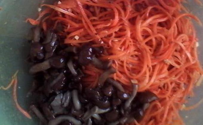 Опята с морковкой: рецепты на зиму