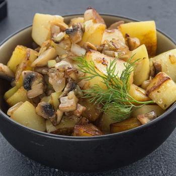 блюдо с опятами рецепты