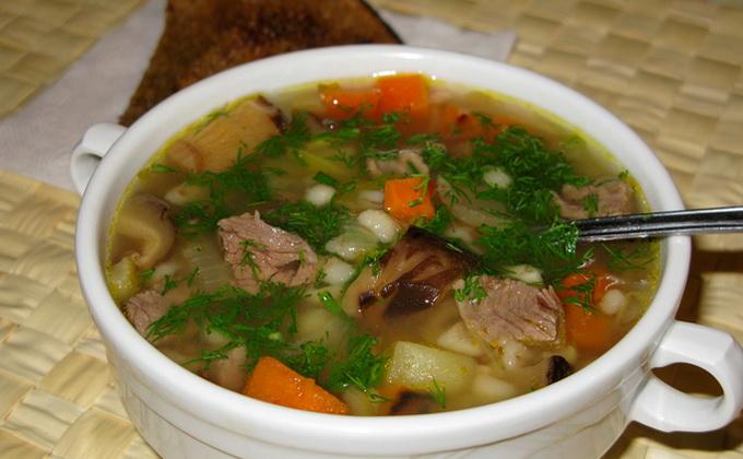 Супы с грибами и картофелем: рецепты первых блюд