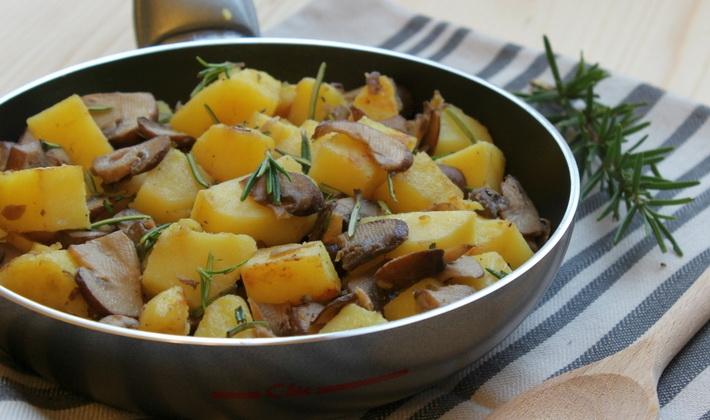 Рецепты блюд из картошки с маринованными грибами