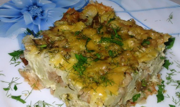 Запеканки из картофеля с грибами: рецепты с фото