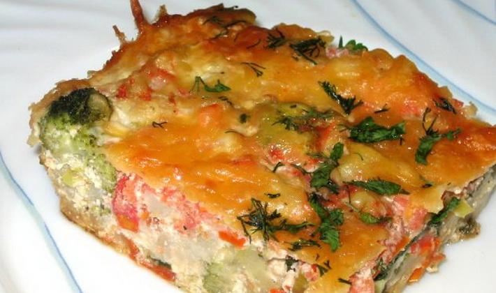 цветная капуста с овощами в духовке рецепты