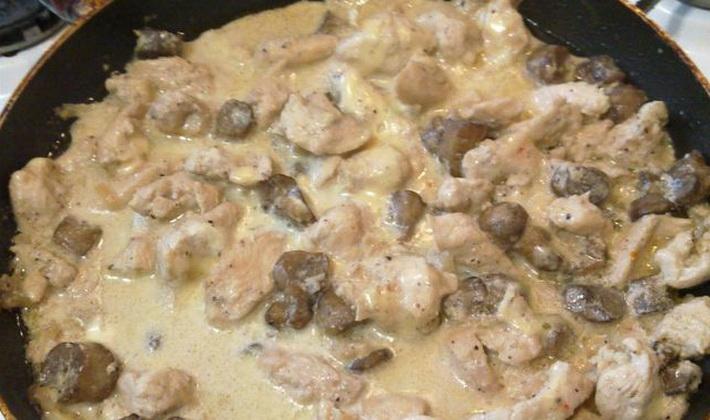 Опята с куриной грудкой: рецепты грибных блюд