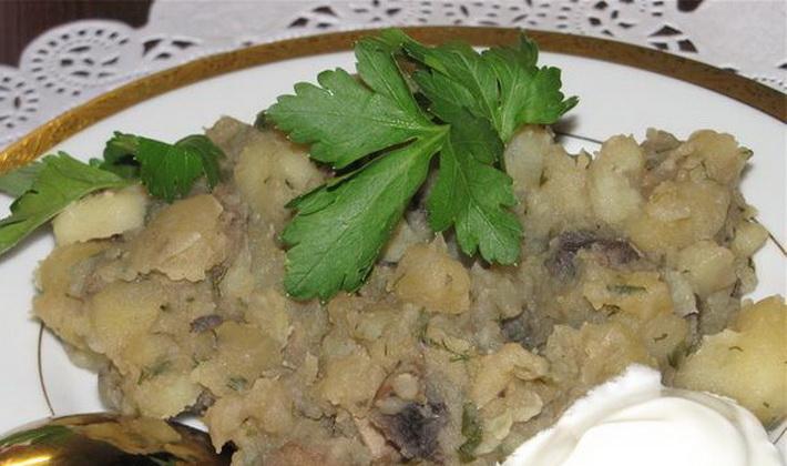 Тушеная картошка с опятами: рецепты грибных блюд