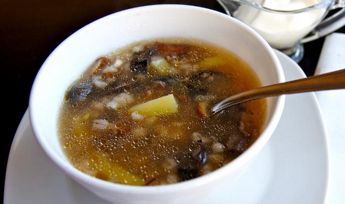 Суп из сушеных опят: рецепты грибных первых блюд