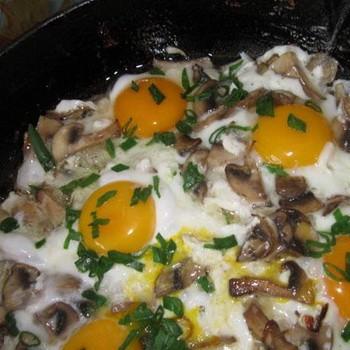 Опята с яйцами: рецепты сытных блюд